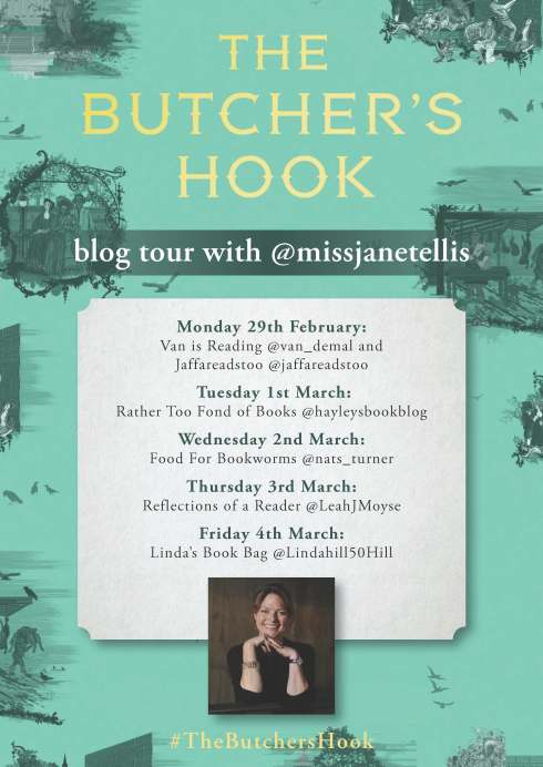 Butchers Hook blog tour poster