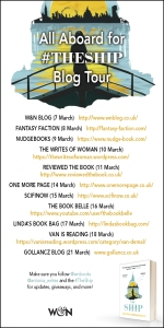 The Ship blog tour banner